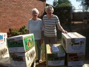 Happy pensioners at Masonic Lodge